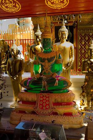 Jade Budha at Doi Suthep Temple, Chiang Mai Thailand