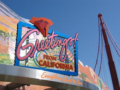 Disneyland Signs