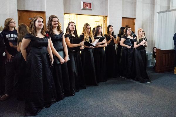 20181201 Villanova Concert and Masti