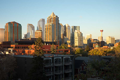 28 September : Calgary, AB skyline