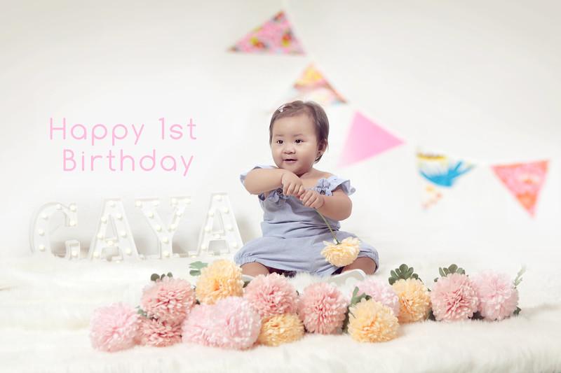Baby Caya Glam Photoshoot