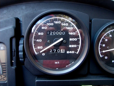 120000kms on trip to Cardy