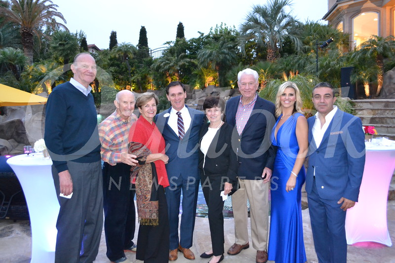 Neal Brockmeyer, Bill and Laura Olhasso, Tyler Wright, Sandy and Fred Engler, and Sandy and Mike Kobeissi.JPG