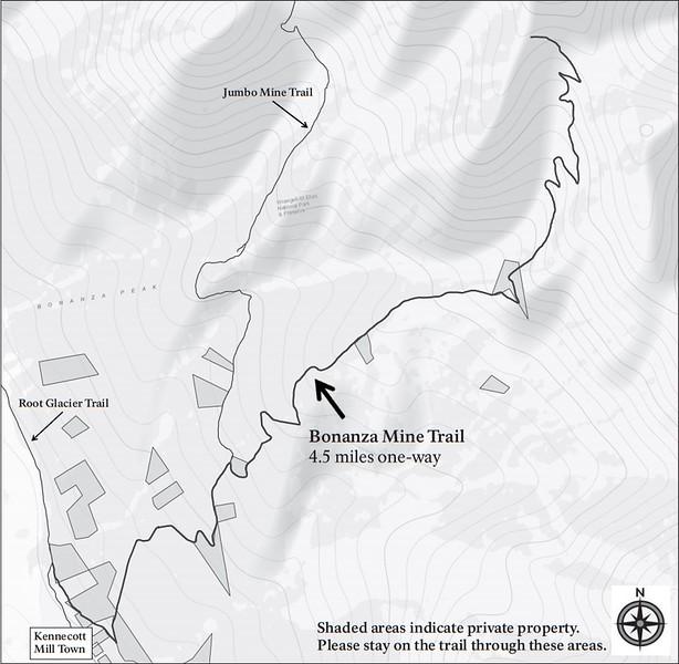 Wrangell-St. Elias National Park and Preserve (Kennecott Area - Bonanza Mine Trail)