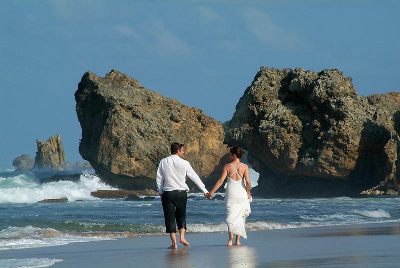 East Coast Wedding in Barbados by Barbados Photography.