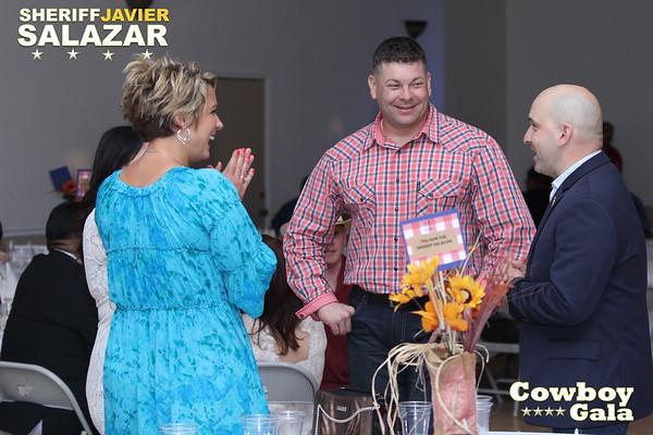 2017 Sheriff Javier Salazar COWBOY GALA