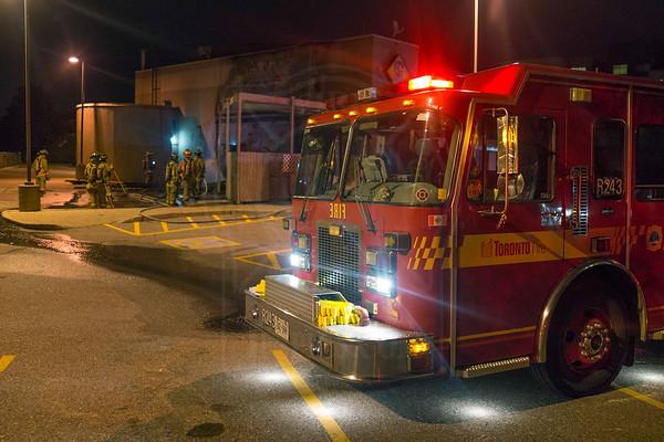 October 6, 2013 - Working Fire - 5780 Sheppard Ave. E.