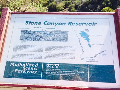 2014 - USA - California - Los Angeles - Stone Canyon Reservoir Beverly Glenatd