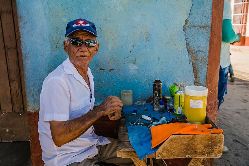 Trinidad Cuba - Lina Stock