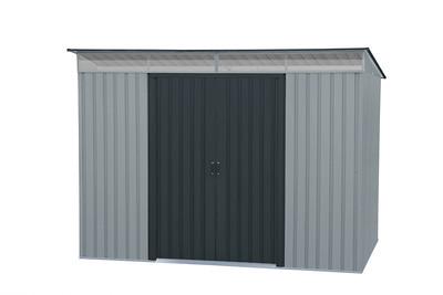 8x6 pent skylight Light grey with Dark grey door/trimmings