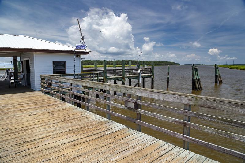 Marsh Landing pier