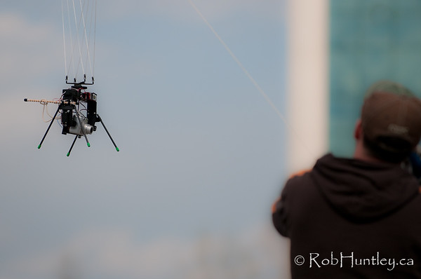 I really like this shot of Matt Young and his KAP rig. This is one of my favourites of Trevor's shots this day. All of the photos in this gallery are by Trevor Johnston. © Trevor Johnston