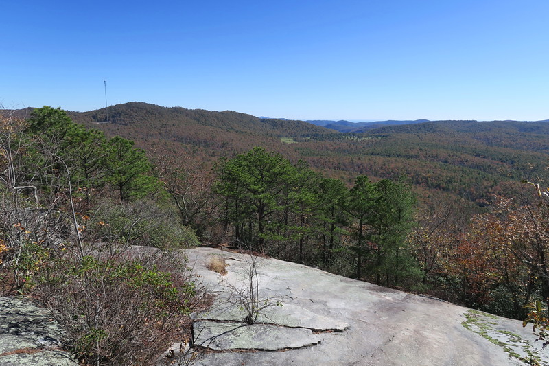 DuPont State Forest -- Stone Mountain via Long Route (10-30-17)
