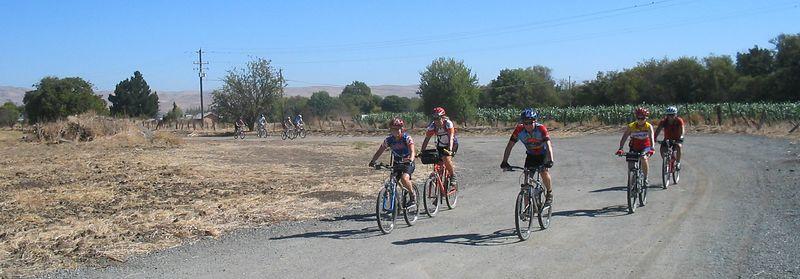Juan Bautista Trail Bicycle Ride, 08-30-05
