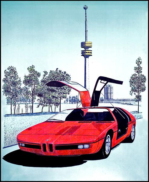 BMW Experimental Car