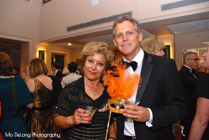 Shahla Davoudi and Brett Moyer