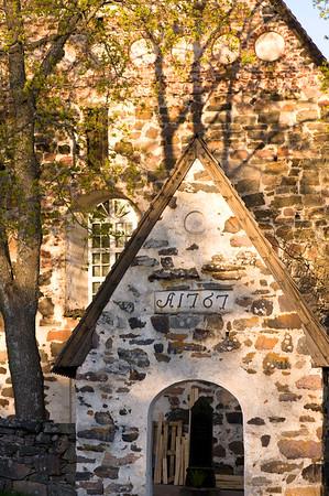 Medieval church, Nauvo, Turunmaa Archipelago, Baltic Sea, Finland