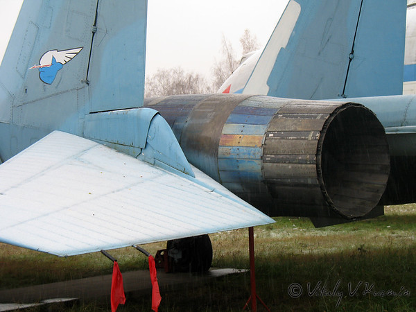 Central museum of Russian Air Force in Monino