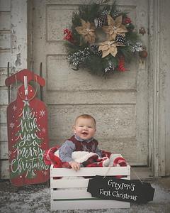 GREYSON'S FIRST CHRISTMAS