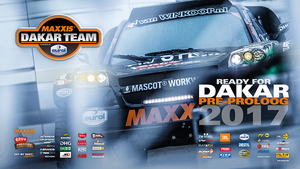 Maxxis Dakar Team | Pre-proloog 2017