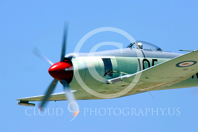 Flying Austrailian Royal Navy Hawker Sea Fury Airplane Pictures