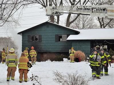 House Fire - Courtenay Cr, Pittsford, NY - 1/29/21