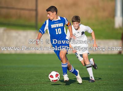 10/19/2011 - Boys Varsity Soccer - Norwood vs Needham