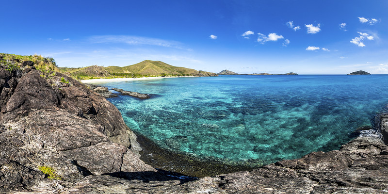 Pristine Water at Paradise Beach - Yasawa - Fiji Islands
