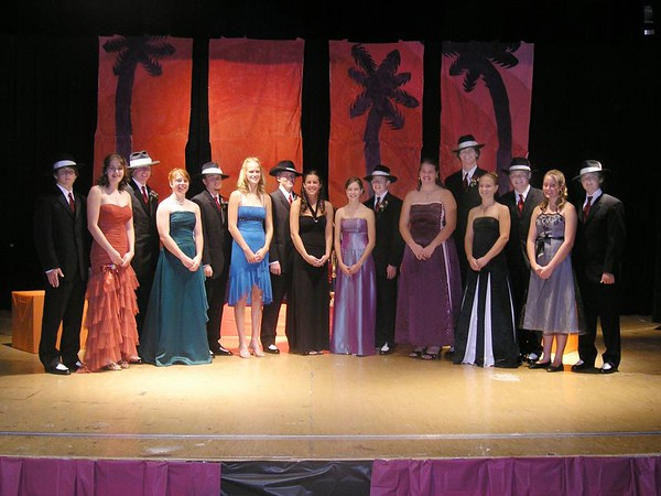 2005 Homecoming Court