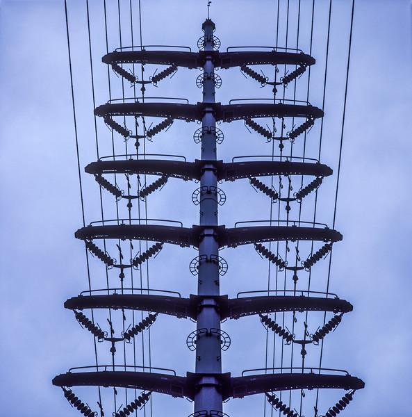 Transmission Line, Himeji, Japan, 1990
