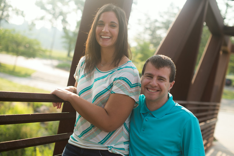 Nicoletta and Elliot's  Engagement Session
