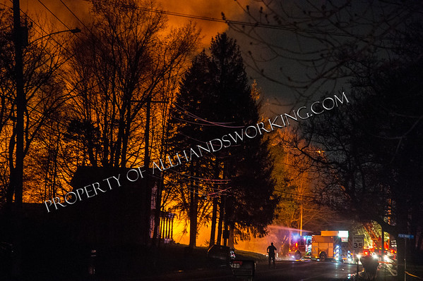 North Haven Police stand off / house explosion