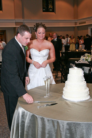 Cake Cutting, Bouquet and Garter