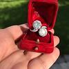 5.15ctw Old European Cut Diamond Toi et Moi Ring 17