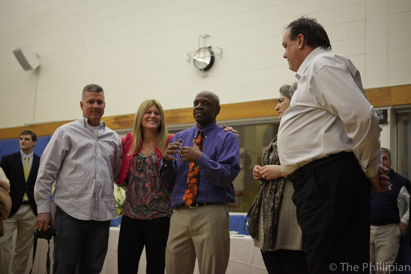 Basketball Reception for Coach Modeste