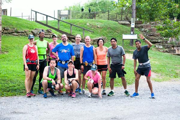 13th Long Run - 17 Miler - Riley's Lock