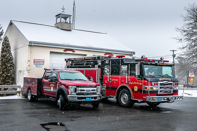Ford Truck S-2 and Pierce Engine 1