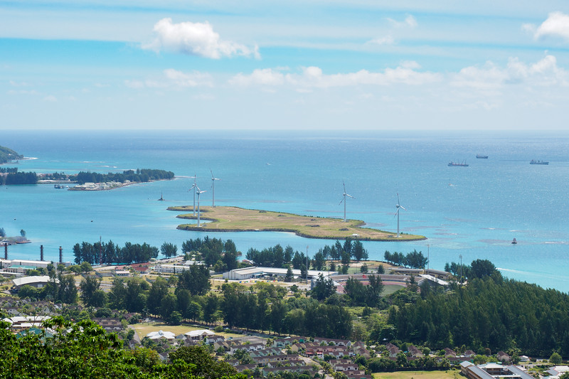 View overlooking Eden Island