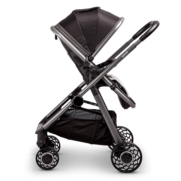 4 Ark Travel System Pushchair Mode Parent Facing Black.jpg