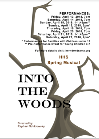 Into the Woods - April 2018