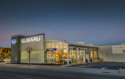 Subaru Pacific dealership photography Jan 2013