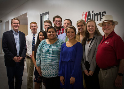 Senator Michael Bennet Tours Aims Community College's New Applied Technology and Trades Center in Greeley