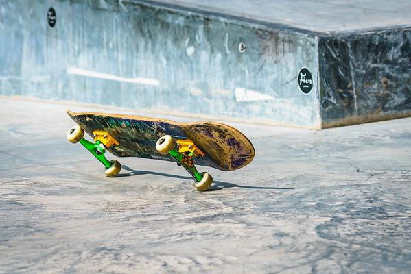Skateboarding & Graffiti