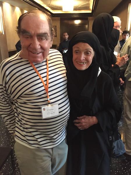Charlie and Dee ready for Saudi Arabia - Bridget St. Clair