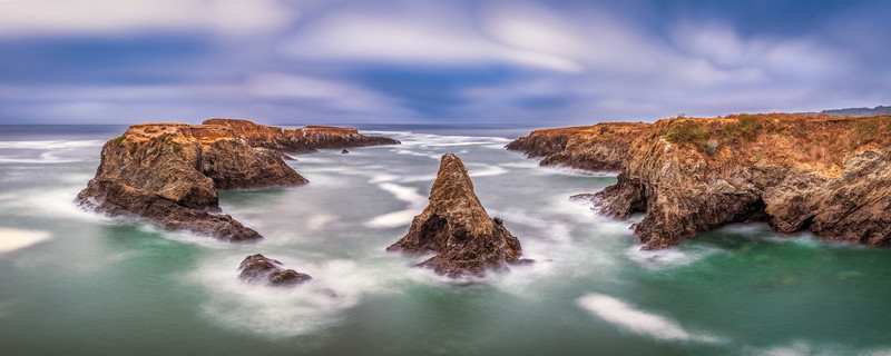 Watkins Rock, Mendocino Headlands, CA