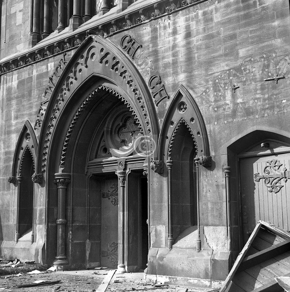 Details of the Renwick Church.    April 1974 and September 1973