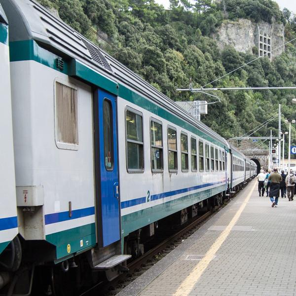 Short train ride (30 minutes) from La Spezia to Monterosso