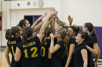 Aloha Warriors Volleyball 28 October 2006 Varsity