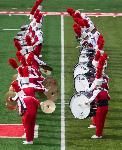 Dancing percussion
