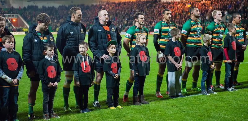Mascots - Exeter AP home, 14 November 2014
